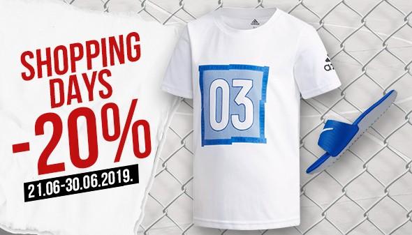 SHOPPING DAYS -20%