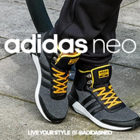 Спортски-урбан стил со adidas Cloudfoam Race