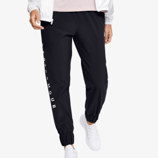 WOVEN BRANDED PANTS