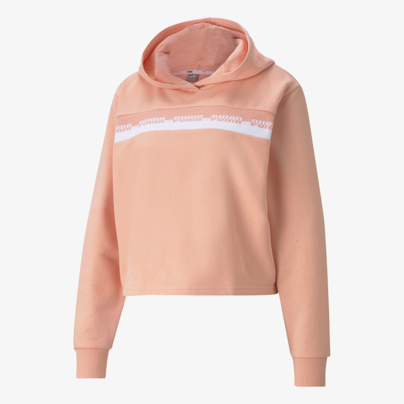 PUMA AMPLIFIED CROPPED HOODIE TR