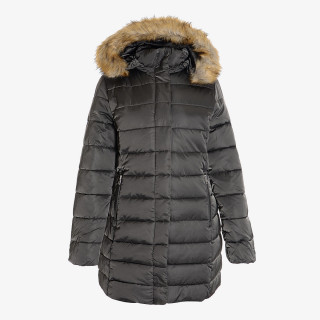 HOODED POLYFILLED JACKET