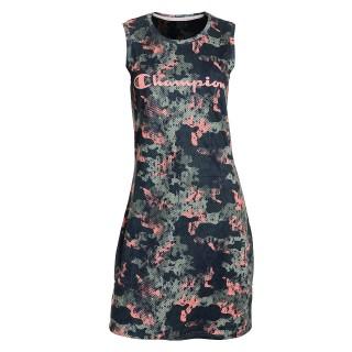 LADY CAMO MESH DRESS