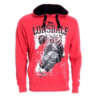 LONSDALE HOODY WITH KANGAROO POCKETS