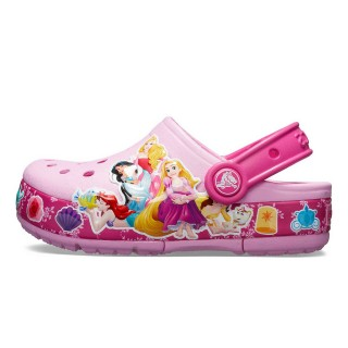 CROCS FL PRINCESS BAND LIGHT CLOG KIDS