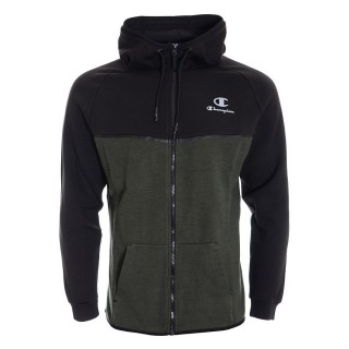HOODED FULL ZIP TOP
