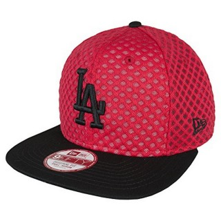 MESH CROWN LOS ANGELES DODGERS SCARLET/OPTIC WHITE/BLACK