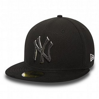 DIAMOND SUEDE NEW YORK YANKEES BLACK/BLACK/GRAY