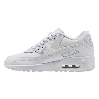 BOYS' NIKE AIR MAX 90 LEATHER (GS) SHOE