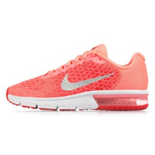 GIRLS' NIKE AIR MAX SEQUENT 2 (GS) RUNNING SHOE
