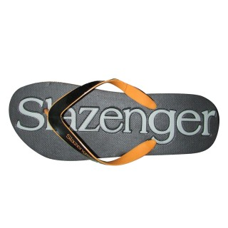SLAZENGER FLIP FLOPS BLACK/ORANGE