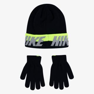 NAN WORD MARK BEANIE & GLOVE