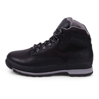 EURO HIKERS LEATHER BLACK