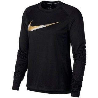W NK MILER TOP LS METALLIC
