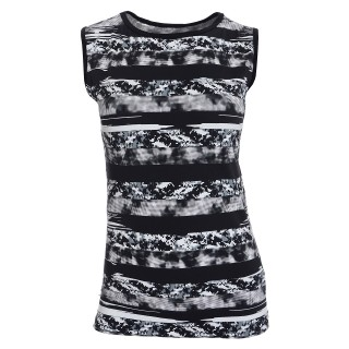 PRINTED SLEEVELESS T-SHIRT