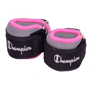 CHAMPION ANK/WRST WTS PINK