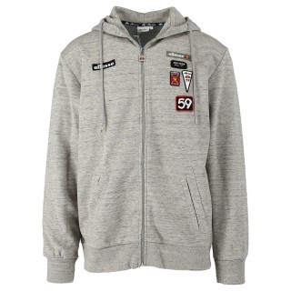MENS ITALIA FULL ZIP HOODY