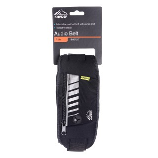 KANDER AUDIO BELT 00 BLACK