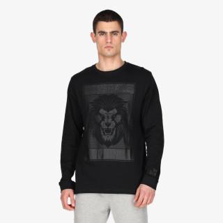 BLK LION T-SHIRT LS
