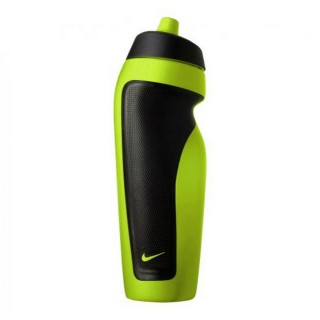 NIKE SPORT WATER BOTTLE ATOMIC GREEN/BLA