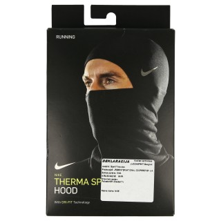 NIKE RUN THERMA SPHERE HOOD 2.0 BLACK/SI