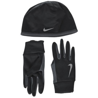 MEN'S NIKE RUN THERMAL HAT AND GLOVE SET
