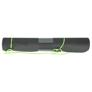 FUNDAMENTAL YOGA MAT (3MM) ANTHRACITE/VOLTAGE GREEN/ANTHRACITE