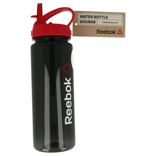 WATER BOTTLE - PL 65CL BLACK 'WORDMARK
