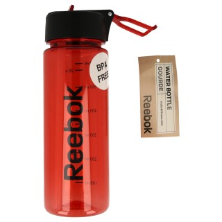 WATER BOTTLE PL 65CL RED '