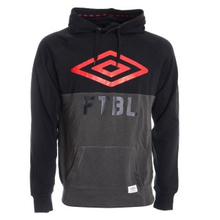UMBRO FTBL HOODED TOP
