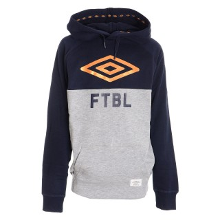 UMBRO FTBL HOODED TOP JNR