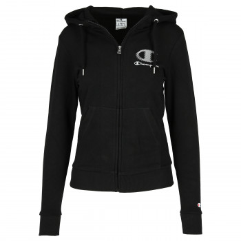 LADY PLAIN FULL ZIP HOODY