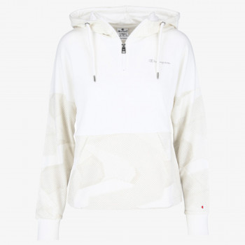 LADY PRINTED ZIP HOODY
