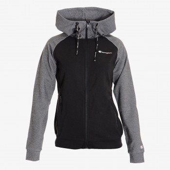 LADY TECH BLOCK FULL ZIP HOODY
