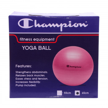 CHAMPION YOGA BALL PINK