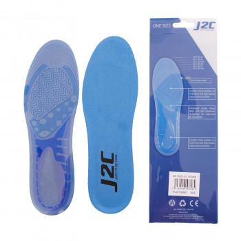 J2C GEL INSOLE BLUE WOMAN
