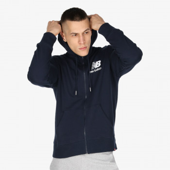 NB ESSENTIALS STACKED FULL ZIP HOODIE