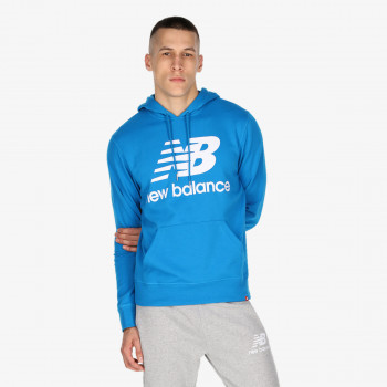 NB ESSENTIALS STACKED LOGO PO HOODIE
