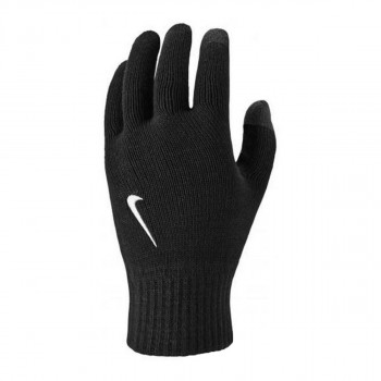 NIKE KNITTED TECH AND GRIP GLOVES BLAC