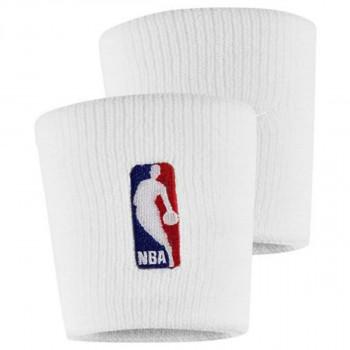 NIKE WRISTBANDS NBA WHITE/WHITE