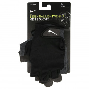 NIKE MEN'S ESSENTIAL FITNESS GLOVES BLAC