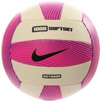 NIKE 1000 SOFTSET OUTDOOR VOLLEYBALL INFLATED WITH BOX HYPER