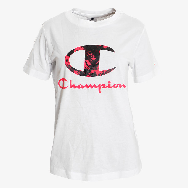 LADY PRINTED LOGO T-SHIRT